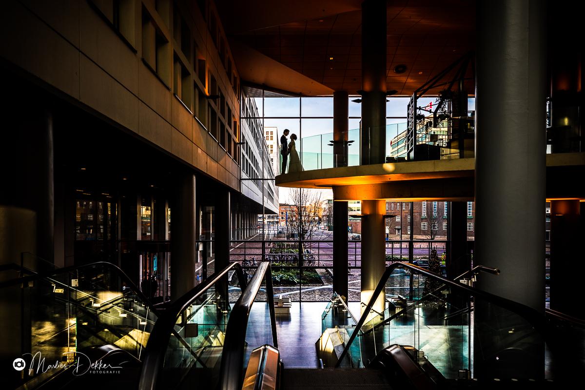Trouwfotograaf Rotterdam Winterbruiloft