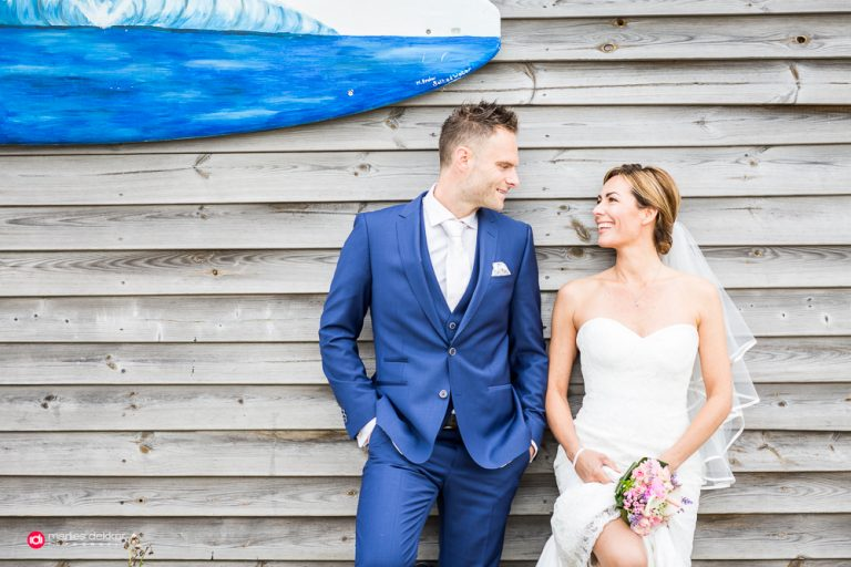 bruidsfotografie ouddorp Sabine & Stefan
