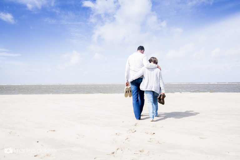 Loveshoot op het strand