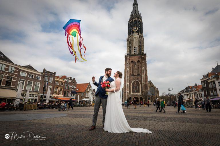 Trouwfotograaf Delft – Anne en Sander