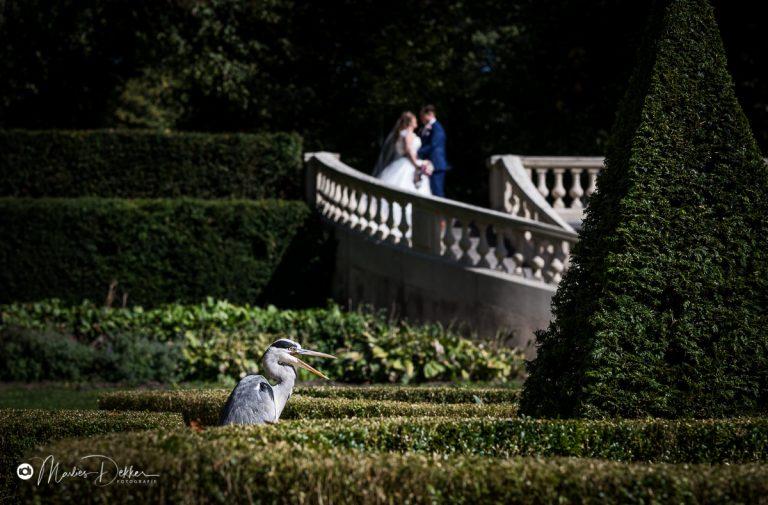 Trouwfotograaf Clingendael Den Haag – bruidsfotograaf Zoetermeer – Stephanie & Michel