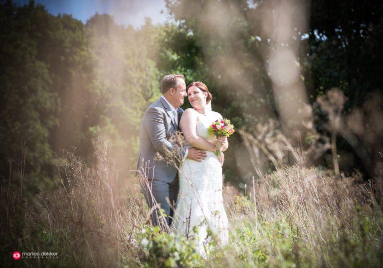 Trouwfotograaf Rotterdam, bruidsfotografie Kasteel van Rhoon – Marleen & Robbert