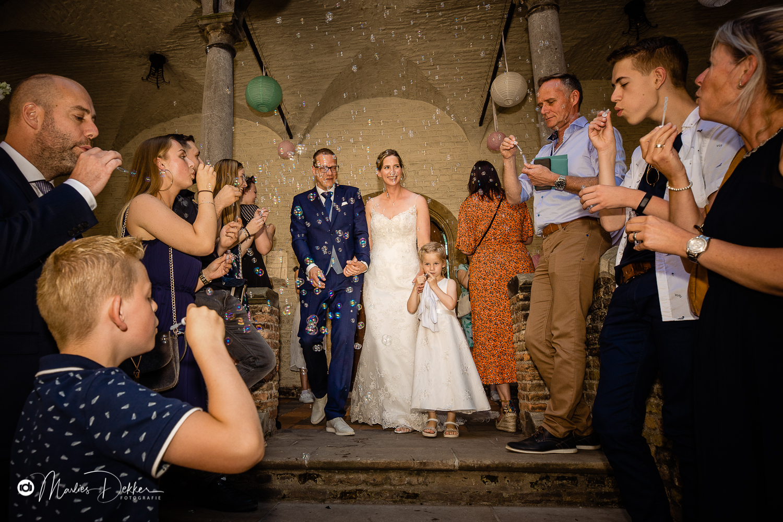 Trouwen in een kasteel - trouwfotografie kasteel Dussen