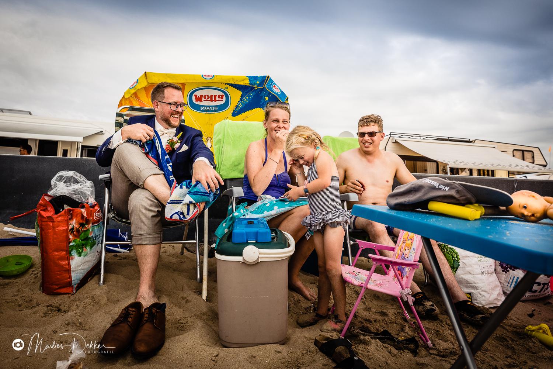 Trouwen op het strand aan Zee Brouwersdam Ouddorp