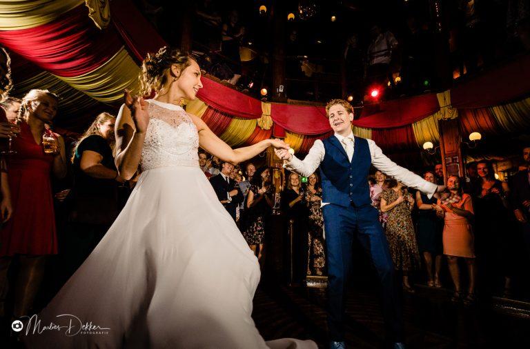 Bruidsfotografie Spiegeltent Gouda