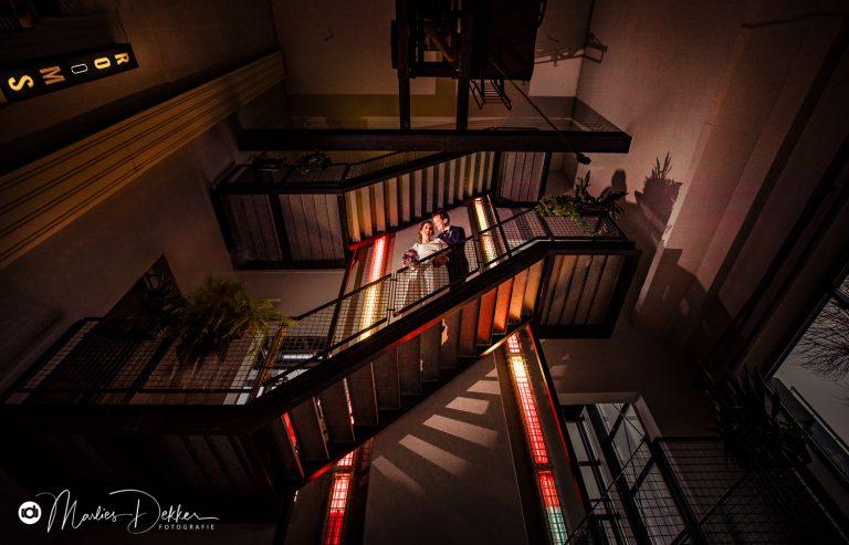 Bruidsfotografie Rotterdam Trouwen in De Machinist