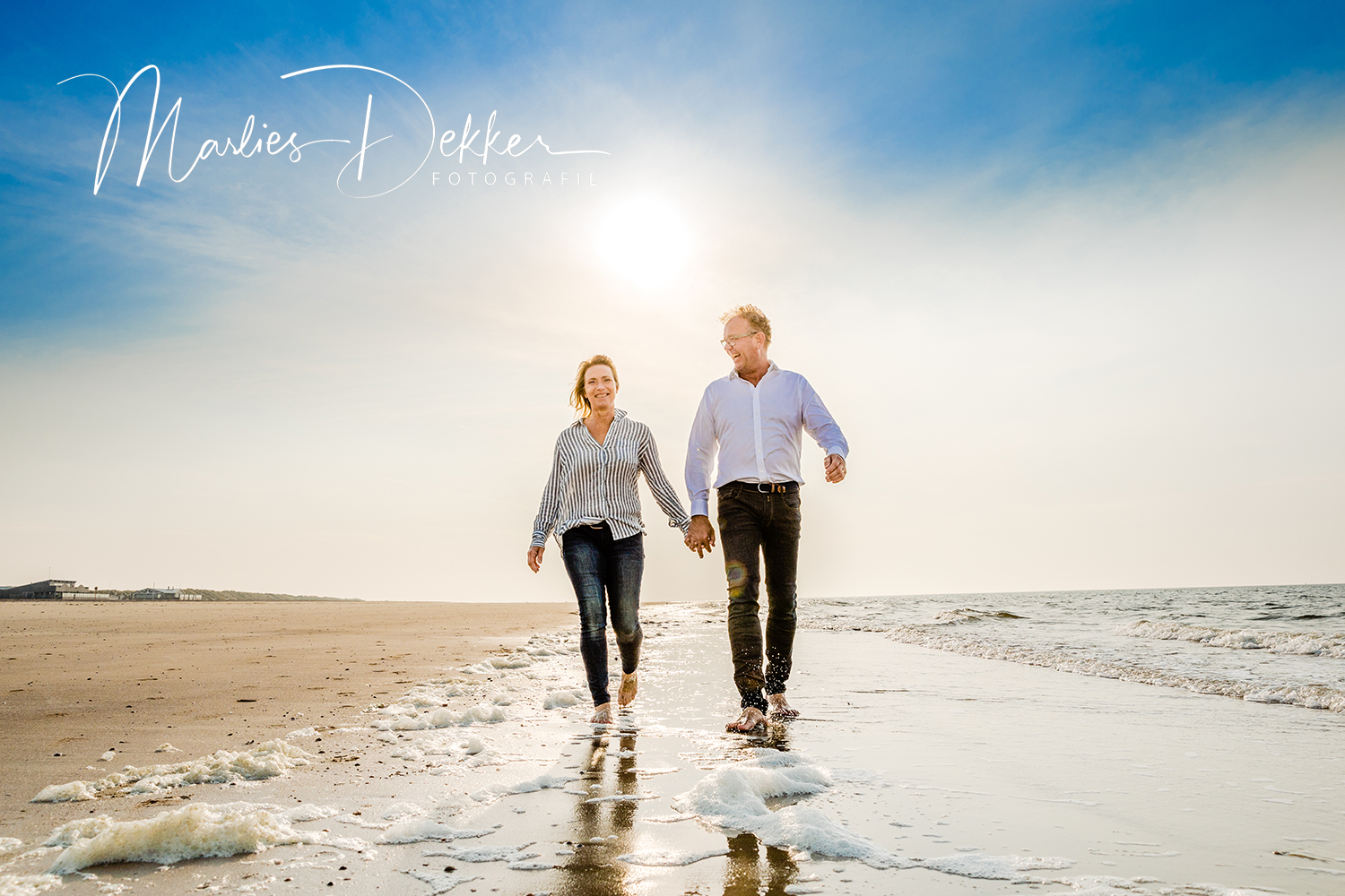 Familie fotoshoot strand Ouddorp Renesse