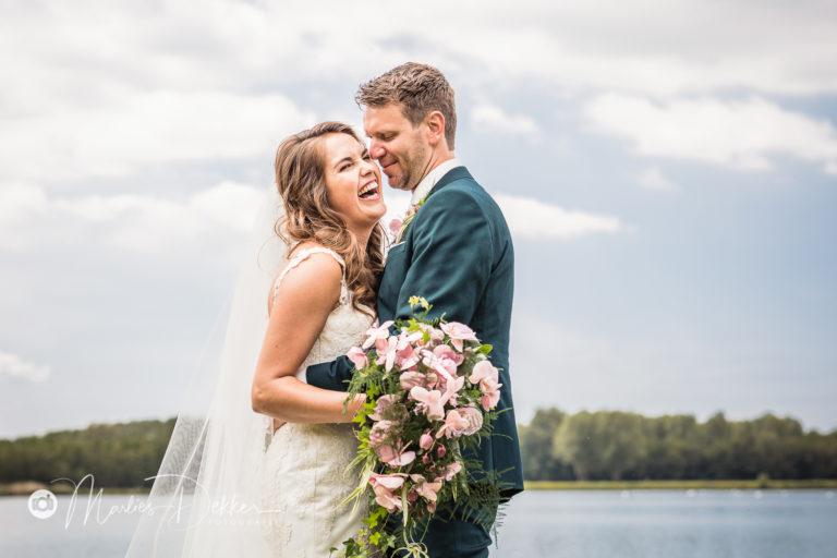 De Corona bruiloft op een dag vol liefde