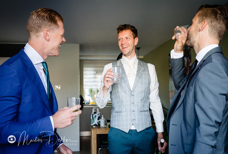 Bruidsfotografie Delft Corona bruiloft