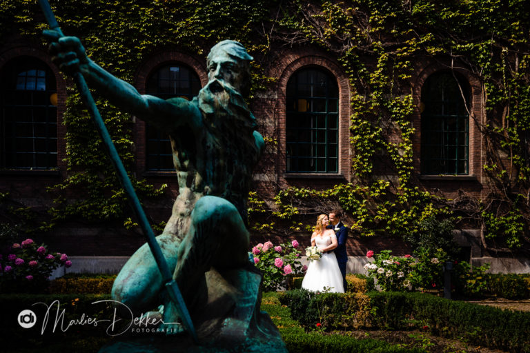Bruidsfotografie Rotterdam – De Tuinen