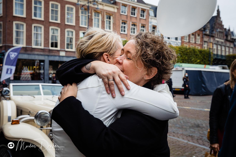 Trouwen op het strand Haarlem