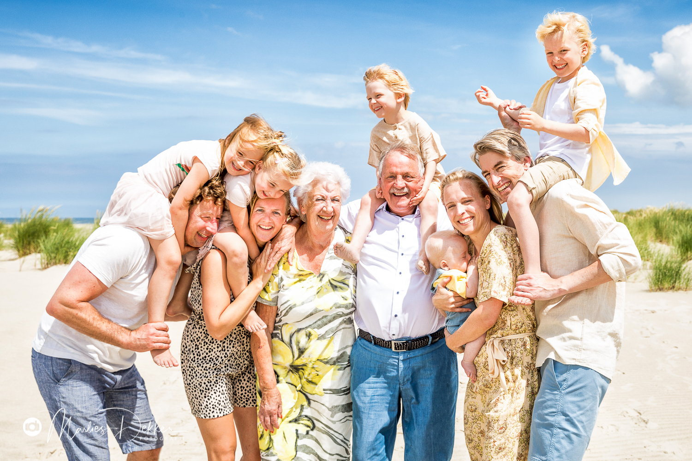 Familie fotoshoot op terschelling
